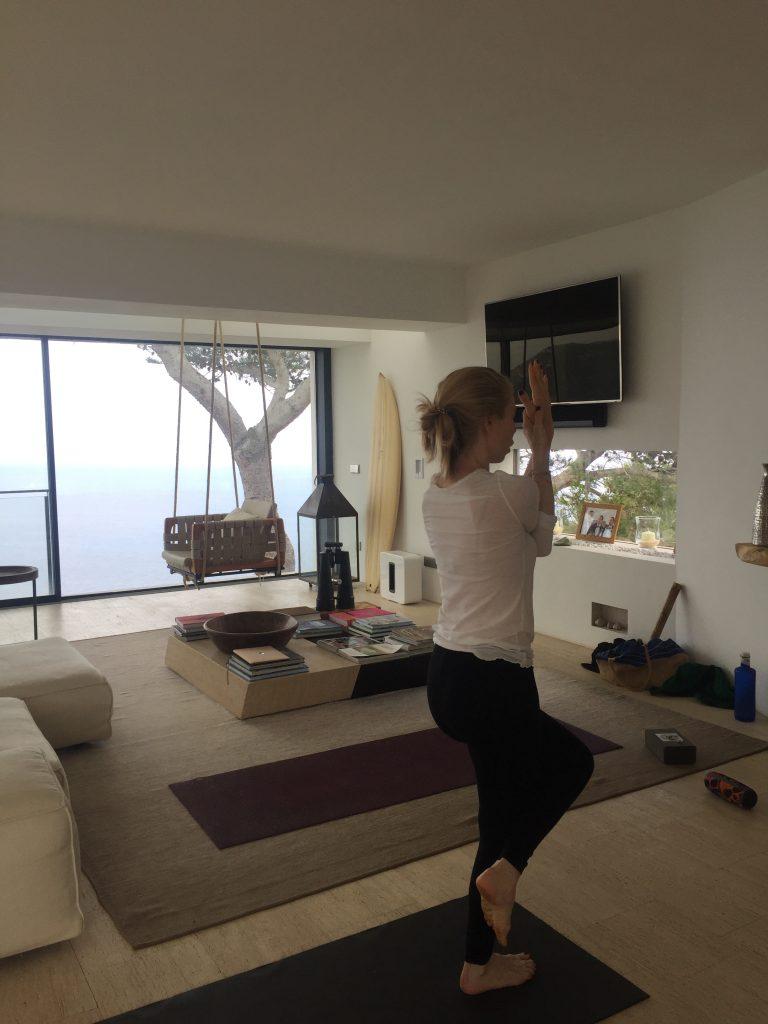 private yoga teacher ibiza