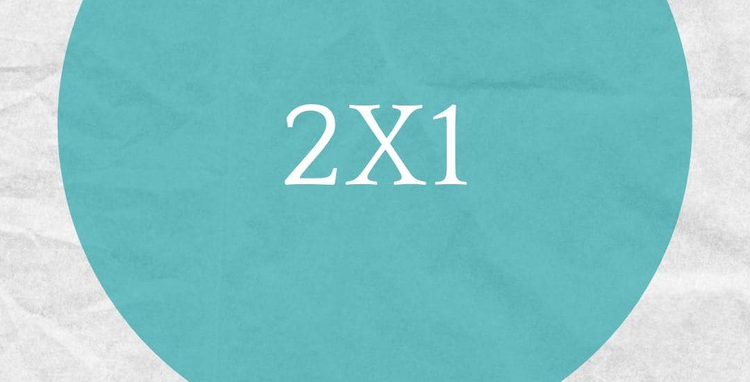 OFERTA 2X1